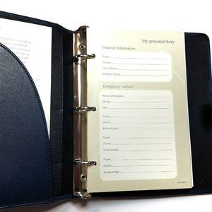 Other - Personal Patient Record Planner 3 Ring Binder